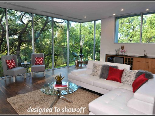 Contemporary Staging in Downtown Austin
